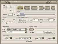 Donar MP3 Recorder :: Main View